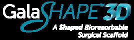 GALAshape 3d surgical mesh logo